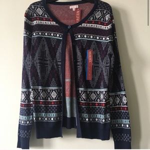 Boho Cardigan Sweater 💙